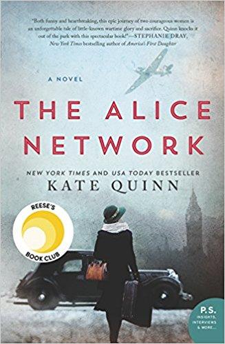BJ Knapp author of Beside the Music enjoyed The Alice Network by Kate Quinn