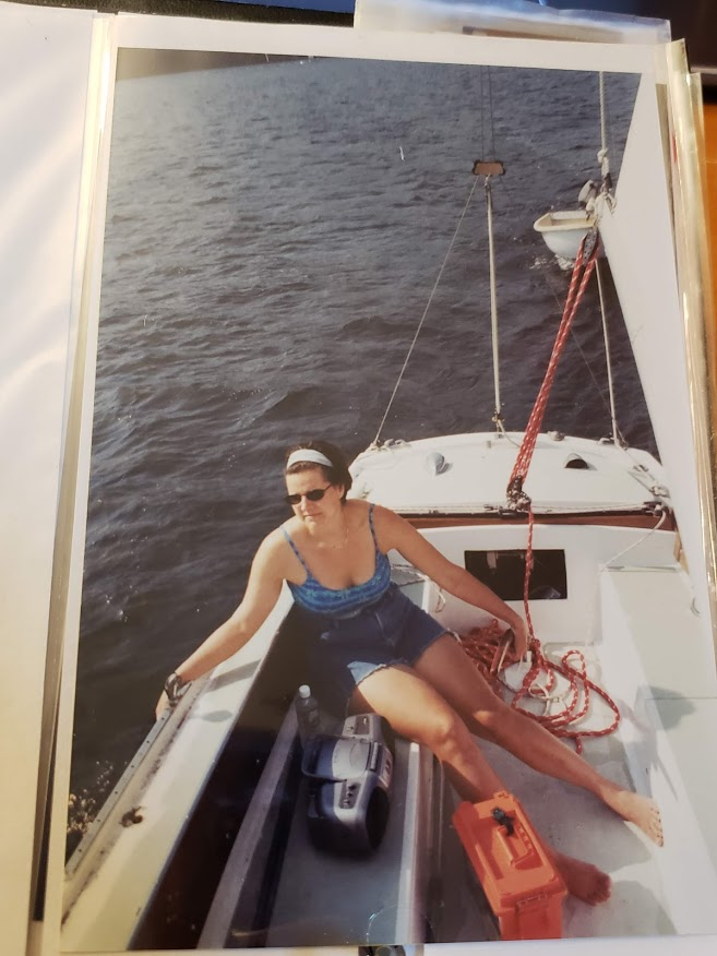 BJ Knapp author of Beside the Music discusses her first sailing trip on Lake Champlain
