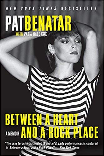 BJ Knapp author of Beside the Music enjoyed Between a Heart and a Rock Place by Pat Benatar