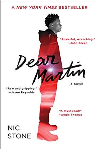 BJ Knapp author of Beside the Music enjoyed Dear Martin by Nik Stone.