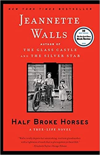 BJ Knapp author of Beside the Music enjoyed Half Broke Horses by Jeannette Walls