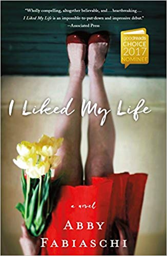 BJ Knapp author of Beside the Music enjoyed I Liked My Life by Abby Fabiaschi