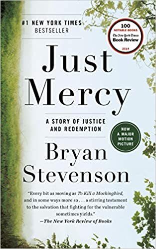 BJ Knapp author of Beside the Music enjoyed Just Mercy by Bryan Stevenson