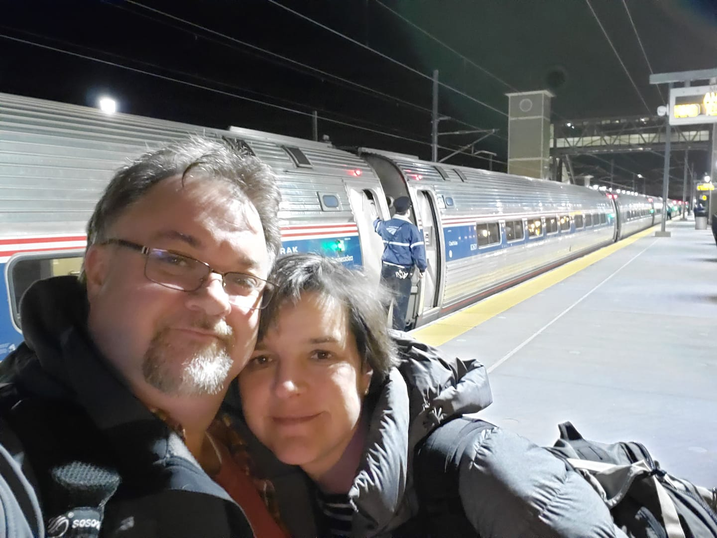 BJ Knapp author of Beside the Music took an epic train trip to NYC and Philly