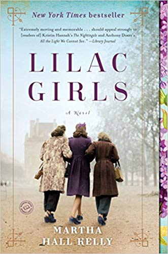 BJ Knapp author of Beside the Music enjoyed The Lilac Girls by Martha Hall Kelly