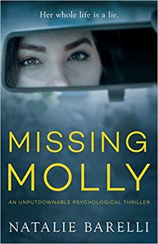 BJ Knapp author of Beside the Music enjoyed Missing Molly by Natalie Barelli