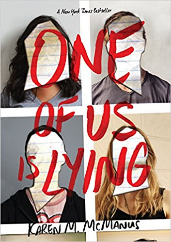 BJ Knapp author of Beside the Music enjoyed One Of Us Is Lying by Karen McManus.