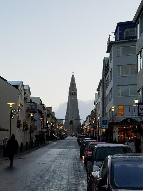 BJ Knapp author of  Beside the Music visits Reykjavik Iceland