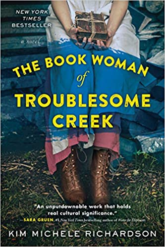 BJ Knapp author of Beside the Music enjoyed The Book Woman from Troublesome Creek by Kim Michele Richardson