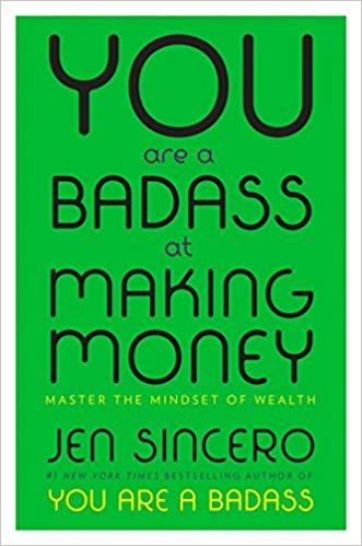 BJ Knapp author of Beside the Music enjoyed You Are a Badass at Making Money by Jen Sincero