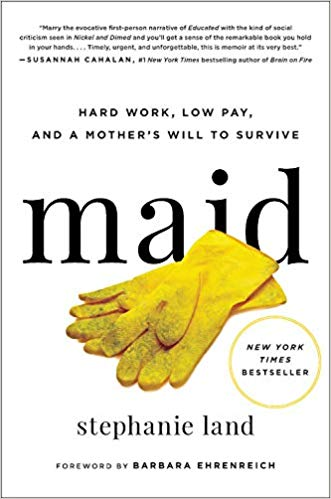 BJ Knapp author of Beside the Music enjoyed Maid by Stephanie Land