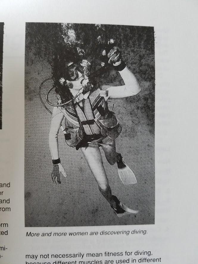 BJ Knapp author of Beside the Music learned to scuba dive in Sydney Australia